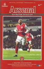 Arsenal v Bolton Wanderers, 28 January 2007, FA Cup