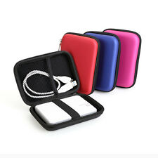 "Carry Zipper Hard Storage Case Bag Pouch Protection For 2.5"" HDD Hard Disk Drive"