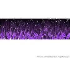 VuScapes Truck Rear Window Graphic - 4 SIZES AVIAL. - Purple Flames