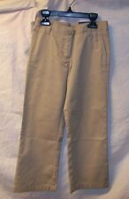 GIRLS IZOD TAN BOOTCUT SCHOOL UNIFORM PANTS SIZE 5 REG NEW WITH TAG