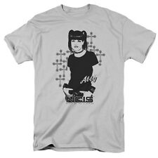 NCIS TV Show Abby Sciuto Forensic Specialist Picture Goth Crosses T-Shirt S-3XL