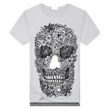 T shirt New police Cotton T shirt Punisher New Hot Military Tactical Skull