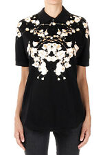 GIVENCHY Woman Floral Pattern Polo T-shirt New with Tags and Original