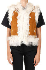 PAROSH Woman MARCELLE Leather Waistcoat New with Tags and Original