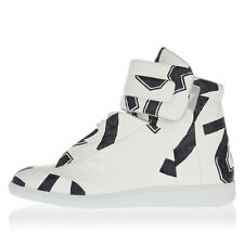 MARTIN MARGIELA MM22 New Man White Leather High Top Sneakers Shoes Made Italy
