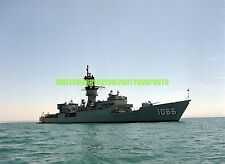 USN Frigate USS MARVIN SHIELDS FF-1066 Color Photo  Military Vet FF 1066 USNS