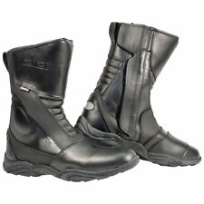 Richa Zenith Waterproof Leather Motorcycle Boots - Black
