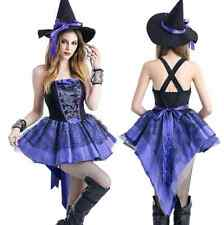 Sexy Witch Costume Women lady Adult Fancy Dress hen night party cosplay