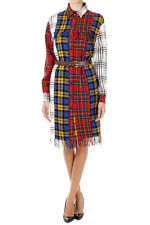 MOSCHINO COUTURE Woman Mixed Virgin Wool Dress with Fringes