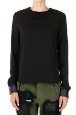 AMEN Women Sweater Tee T-shirt Blouse Long sleeve Made in Italy NWT