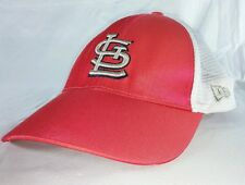 Womens St Louis Cardinals New Area Snapback Baseball Hat Cap Trucker Style Red