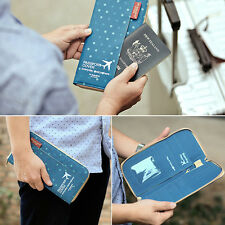 New PassportCover Travel Wallet Passport Holder OrganizerBusiness Card Holder ID