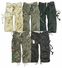SURPLUS ARMY MENS ENGINEER 3/4 CARGO PANTS BELOW KNEE ARMY COMBAT LONG SHORTS