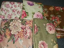 CHOICE:  ROSE FLOWERED 100% COTTON FABRIC