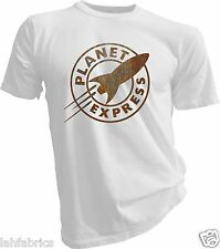 Rusty Planet Express, Futurama, T-Shirt Design