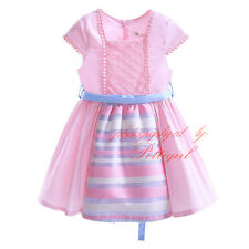 Toddler Girls Flower Princess Dress Wedding Party Pageant Communion Christening