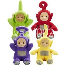 TELETUBBIES - SUPER SOFT COLLECTABLE PLUSH - Po, Dipsy, Laa-Laa, Tinky Winky