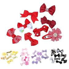 8x Mixed Colour Sweet Baby Kid Girls Hair Pins Clips Hair Accessories