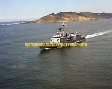Guided Missile Frigate USS COPELAND FFG 25 Color Photo Military Navy FFG-25 USN