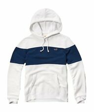 Nwt Hollister By Abercrombie Mens Full Zip and Pullover Hoodie White Navy