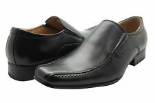 NXT MEN'S DRESS SHOES BLACK LEATHER LOAFERS  STYLE # N2961