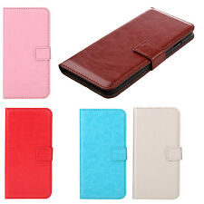 Flip PU Leather Hard Wallet Case  Pouch Magnetic Clip for iPhone 6 SI