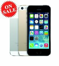 """Apple iPhone 5S- 16GB 32GB GSM """"Factory Unlocked"""" Smartphone Gold Gray Silver"""