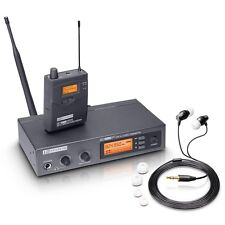 LD Systems MEI1000 IEM In Ear Monitoring System Band Inc Headphones *Ex Demo*