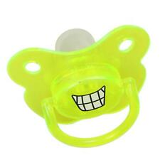 New Funny Baby Pacifier Novelty Infant Pacify Gift for 6+ Months