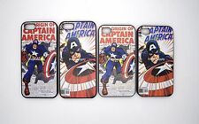 Captain America iPhone 5 iPhone 4 Case Superhero Snap On Cover Marvel Comic