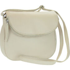 R & R Collections Genuine Leather Flapover Crossbody - Cross-Body Bag NEW