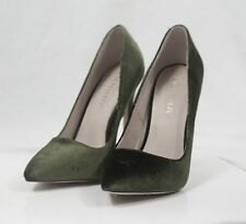 New Liliana Pixie-1 Suede Pointy Toe High Heel Pump