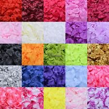 100pcs Fashion Flowers Silk Rose Petals Wedding Party Table Confetti Decoration
