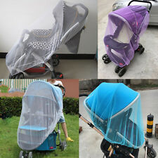 Infants Baby Stroller Pushchair Anti-Insect Mosquito Bug Net Safe Mesh Cover New