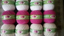 "70%Cotton 30%Viscose Yarn Thread knitting ""Peony"". 4skeins 200g/7oz Russia"