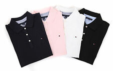 TOMMY HILFIGER LADIES POLO SHIRT POLO SHIRT 4 COLORS SIZE SELECTABLE
