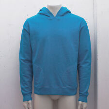 NEW Mens Balenciaga Blue Hoodie Hooded Sweat Shirt Top GENUINE RRP: £295