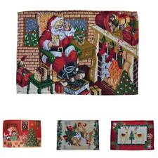 Christmas Style Design Table Placemat Place Mat for Xmas Dinner Table Supplies