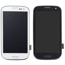 New Touch Screen + LCD Display Assembly + Frame For Samsung Galaxy S3 I9300