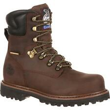 Brand New Georgia Boot GB00055 Men's Brown Work Boots