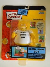 Simpsons Playmates World Of Springfield Interactive Figures ALL NEW IN THE BOX