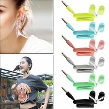 In-Ear 3.5mm Stereo Headphone Earphone Headset With Mic For Phone iPod PC Tablet