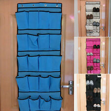 Pocket Shoes Space Saver Door Hanging Organizer Storage Rack Wall Closet Holder