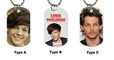 New One Direction Louis Tomlinson Photo Dog Tag / Necklace