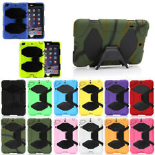 Defender Heavy Duty Cover Shockproof Rubber Armor Case with Stand For Apple iPad