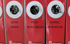 Clarks bike stainless inner or black outer brake gear cables wires MTB Road