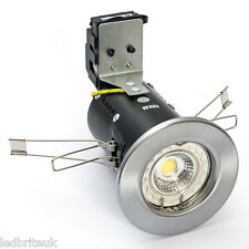LED FIRE RATED DOWNLIGHT 7 Watt ( COB ) Dimmable Pressed COOL or WARM WHITE