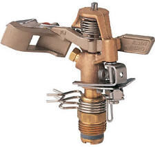 Rainbird National Sls 25PJDAC Impulse Sprinkler, Brass, 50-Ft.