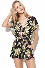 New MINKPINK Panama Playsuit Multi Womens
