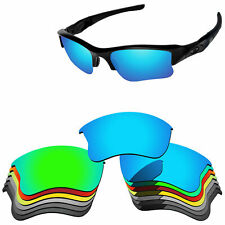 Polycarbonate Replacement Lense For-Oakley Flak Jacket XLJ Glasses Multi-Options